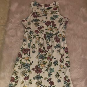 long dress with flowers on it♥️